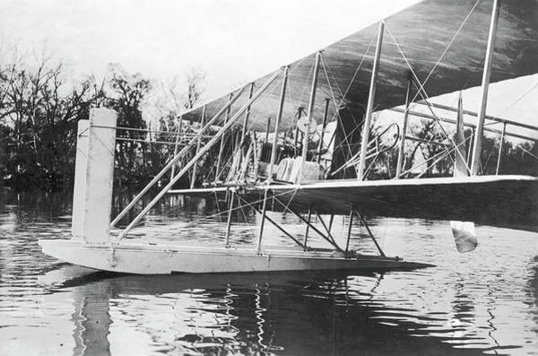 Dayton Photograph - Wright Seaplane by Us Air Force/science Photo Library