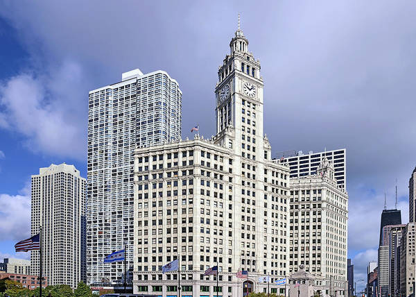 Wall Art - Photograph - Wrigley Building Chicago by Christine Till