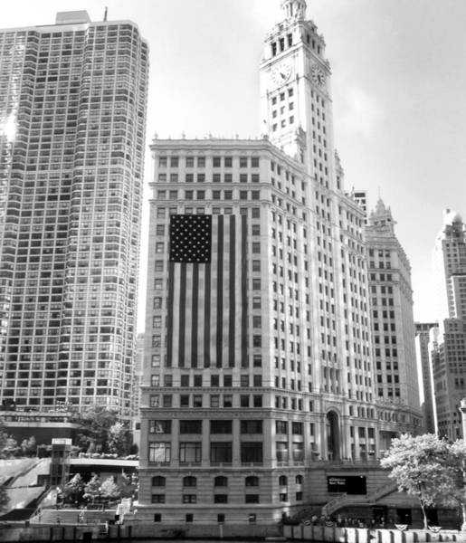 Wall Art - Photograph - Wrigley Building Chicago by Mike Maher
