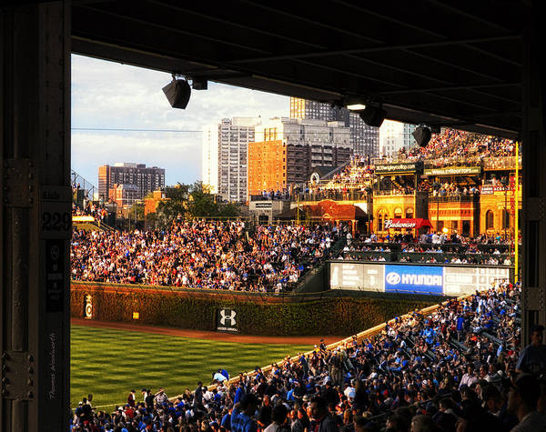 Jon Lester Photograph - Wrigley Field Aisle 229 by Thomas Woolworth