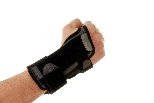 Bracing Photograph - Wrist Brace by Aj Photo/science Photo Library
