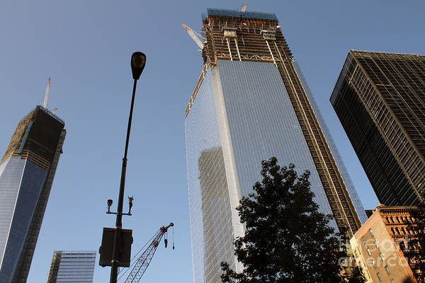 Photograph - Wtc Construction by Steven Spak