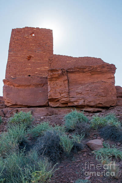 Photograph - Wukoki Pueblo Wupatki National Monument by Fred Stearns