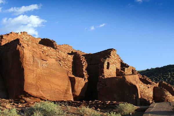 Wupatki Photograph - Wupatki Monument American Indian Pueblo by Zuki