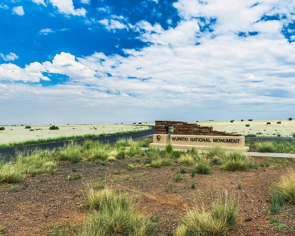Photograph - Wupatki National Monument by Chris Bordeleau