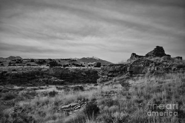 Wupatki Photograph - Wupatki National Monument-ruins V14 by Douglas Barnard