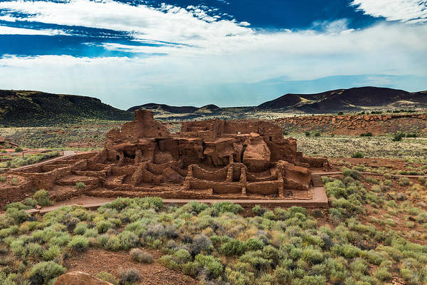 Photograph - Wupatki Pueblo by Chris Bordeleau