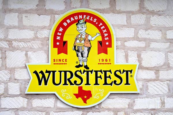 New Braunfels Photograph - Wurstfest by Gary Richards