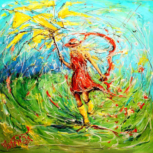 Acrilic Painting - Wuthering Heights by Mathias