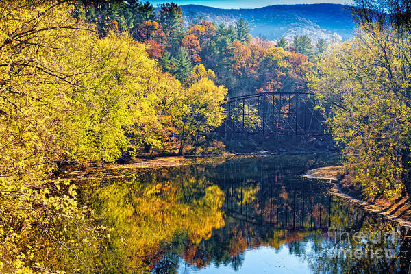 Photograph - Wv Fall by Ronald Lutz