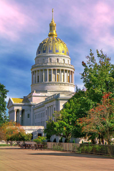 Photograph - Wv State Capitol by Mary Almond