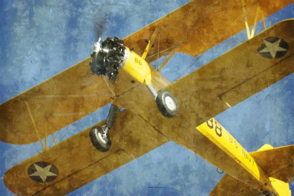 Wall Art - Photograph - Stearman Trainer Bi Plane by Thomas Woolworth