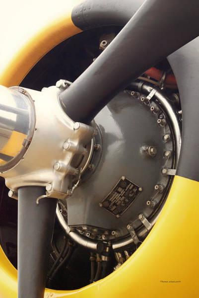 Wall Art - Photograph - Ww II Airplane Engine by Thomas Woolworth