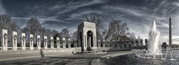 Ww Ii Photograph - Ww II Memorial  by Robert Fawcett