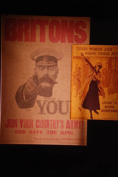 Ww1 Recruitment Posters Art Print