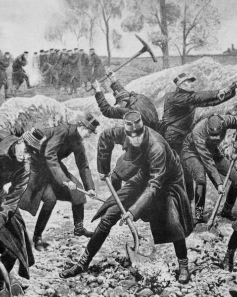 Belgian Photograph - Ww1(1914-1918) Occupation Of Belgium by Prisma Archivo
