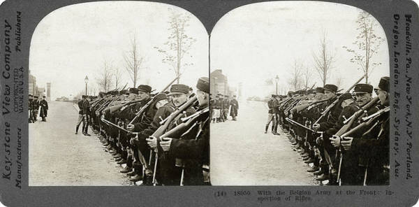 Photograph - Wwi Belgian Army - To License For Professional Use Visit Granger.com by Granger
