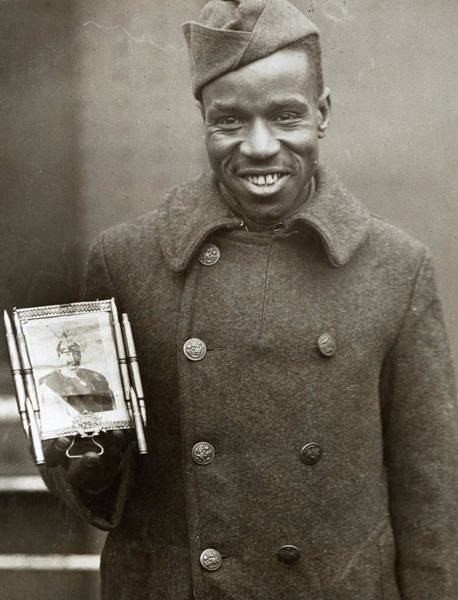 Wall Art - Photograph - Wwi Fred Mcintyre, 1919 by Granger
