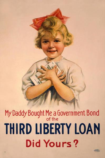 Government Digital Art - Vintage Bond Girl by Gary Bodnar