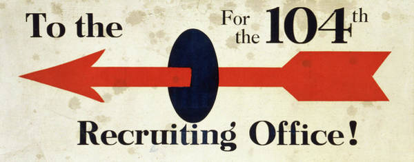 Recruitment Painting - Wwi Poster, C1917 by Granger