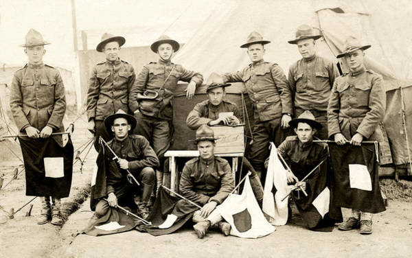 Wwi Photograph - Wwi Us Army Signal Corps by Historic Image