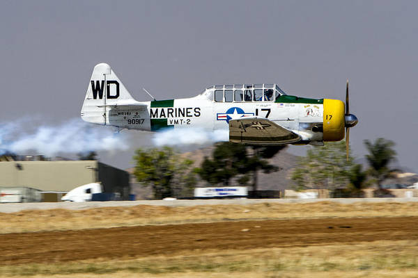 Photograph - Wwii Fighter 1 by Jim Moss