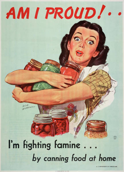 Drawing - Wwii Poster, C1945 by Granger
