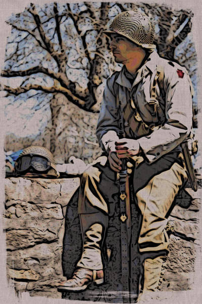 Photograph - Wwii Soldier Two by Alice Gipson