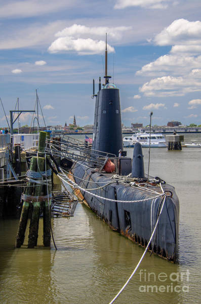 Photograph - Wwii Sub by Dale Powell