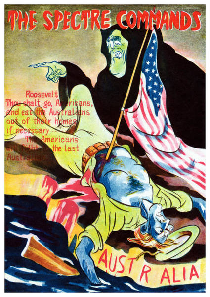 Fdr Painting - Wwii The Spectre Commands by Historic Image