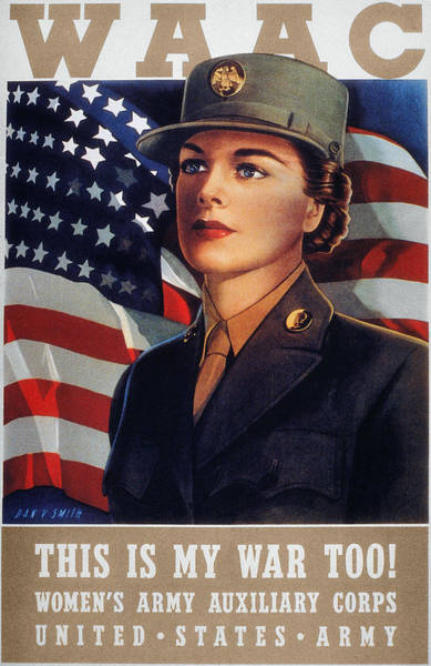 Photograph - Wwii: Waac Poster, 1942 by Granger