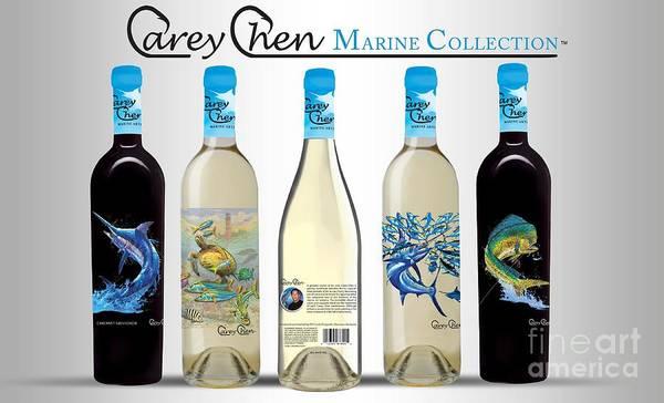 Cana Island Wall Art - Glass Art - www.CareyChenWine.com by Carey Chen