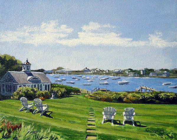 Wall Art - Painting - Wychmere Harbor Harwich Port Massachusetts Cape Cod Massachusetts by Christine Hopkins