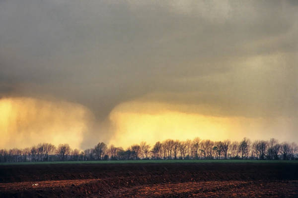 Photograph - Wynne Ar Tornado Descending by Jason Politte