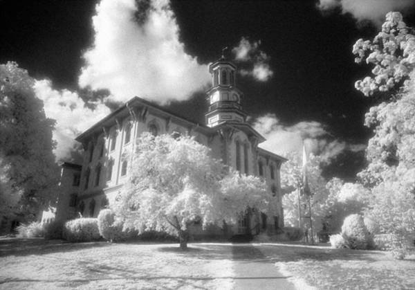 Photograph - Wyoming County Courthouse by Jim Cook