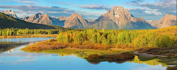 Mount Moran Photograph - Wyoming, Grand Teton National Park by Jaynes Gallery
