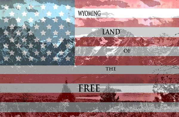 Laramie Photograph - Wyoming Land Of The Free by Dan Sproul