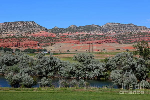 Photograph - Wyoming Landscape With Red Hills by Carol Groenen