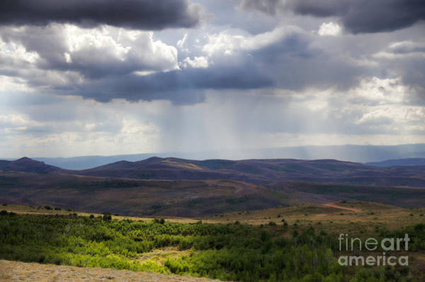 Photograph - Wyoming Storms by Donna Greene