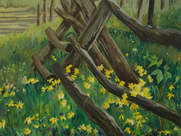 Painting - Wyoming Summer by Terry Holliday