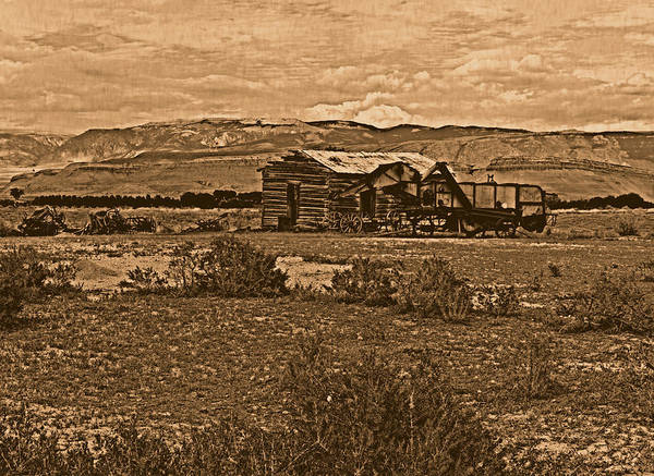 Photograph - Wyoming West by Leland D Howard