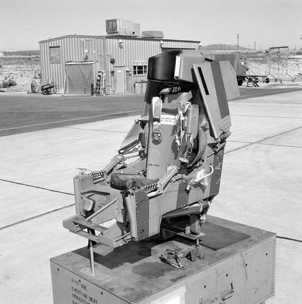 Airbase Photograph - X-15 Aircraft Ejection Seat by Nasa/usaf