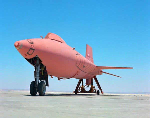 Airbase Photograph - X-15 Aircraft With Ablative Coating by Nasa