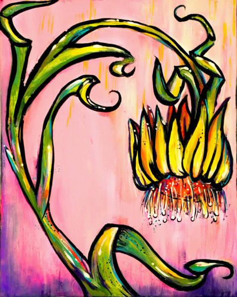 Painting - Xeranthemum by Nada Meeks