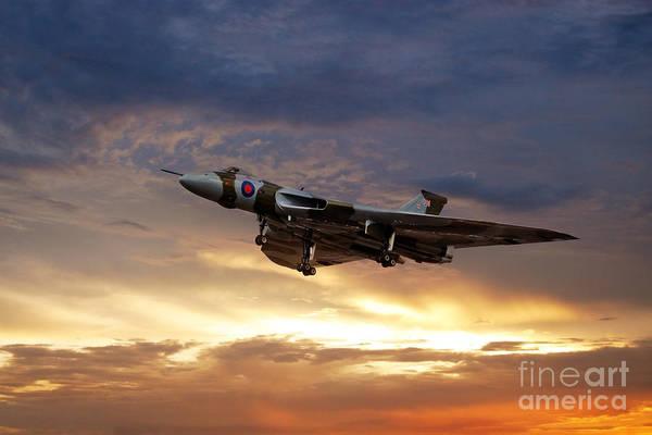Falklands Digital Art - Xh558 End Of A Season  by J Biggadike