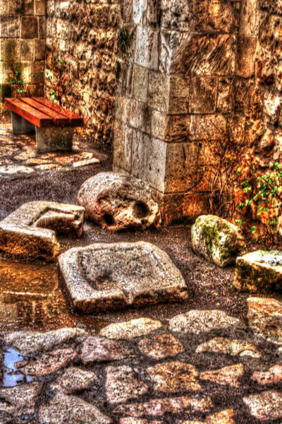 Photograph - Stones That Don't Lie - Israel by Doc Braham