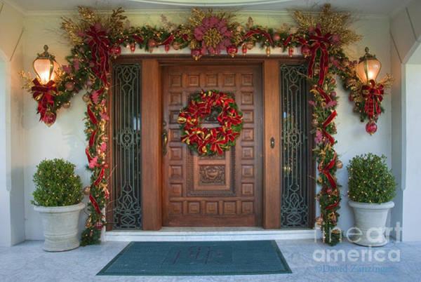 Tournament Of Roses Photograph - Pasadena,tournament Of Roses Historic Mansion by David Zanzinger