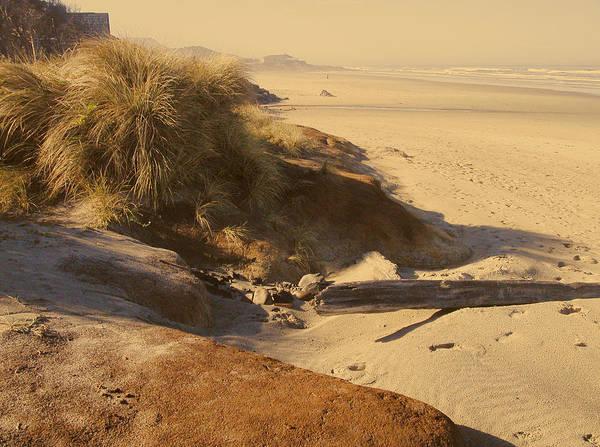 Photograph - Yachats Oregon Beach by Rich Stedman