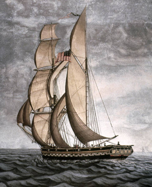 Painting - Yacht, 1816 by Granger