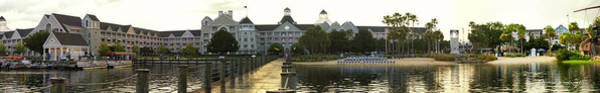 Wall Art - Photograph - Yacht And Beach Club Resort Panorama Walt Disney World by Thomas Woolworth
